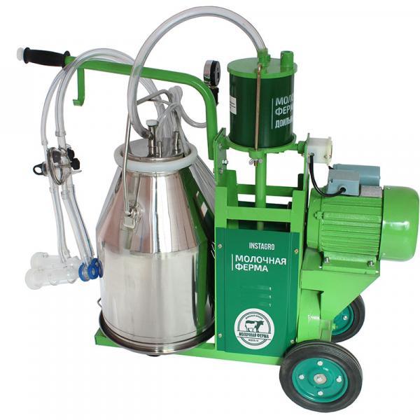 Доильный аппарат 2в1 для коров и коз «Молочная ферма» модель 1ПК - ФермерМ - Товары для фермеров и хозяйств