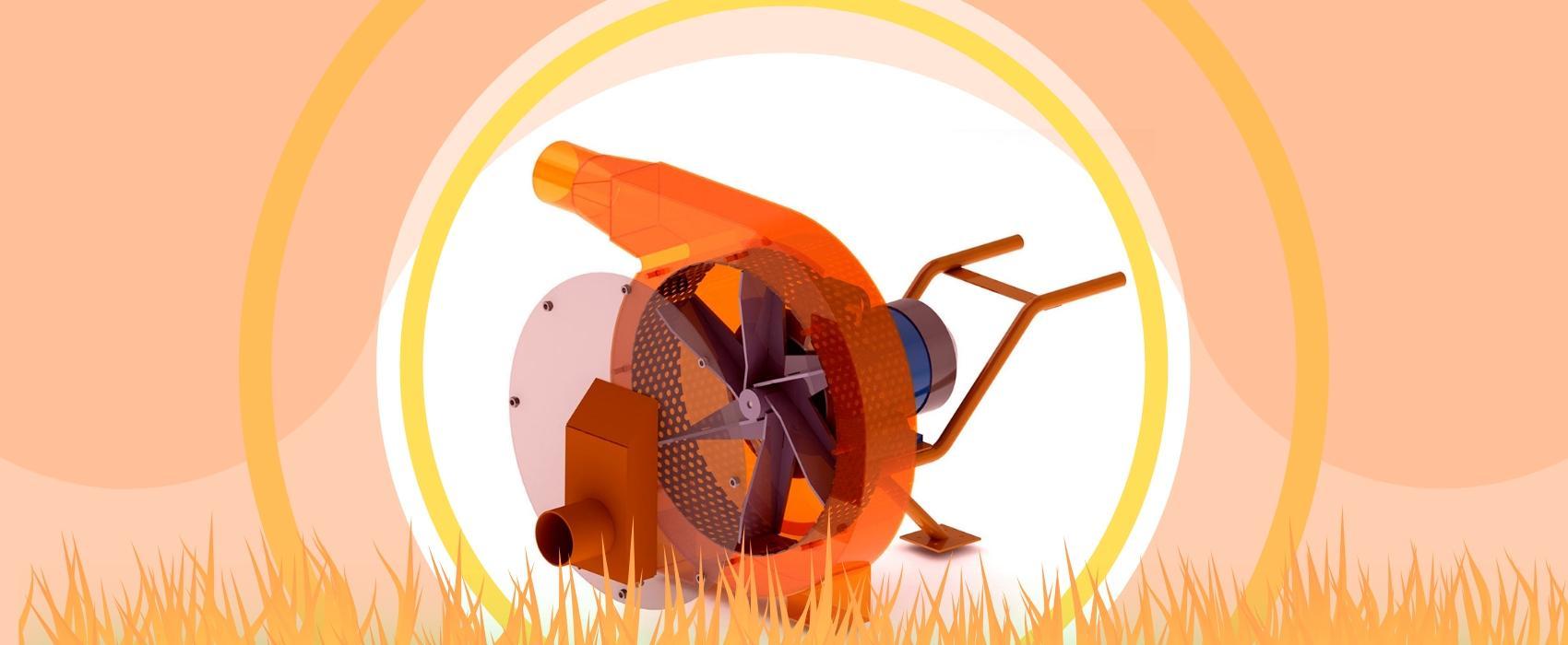 """Ротороная зернодробилка """"ШМЕЛЬ"""" - ФермерМ - Товары для фермеров и хозяйств"""